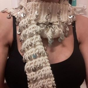 Accessories - wool&acrylic warm and stylish scarf.so cute.unworn
